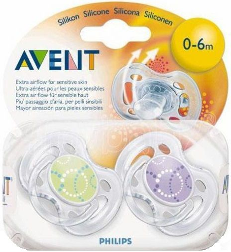 Philips Avent Пустышка Freeflow Design (0-6 мес.)
