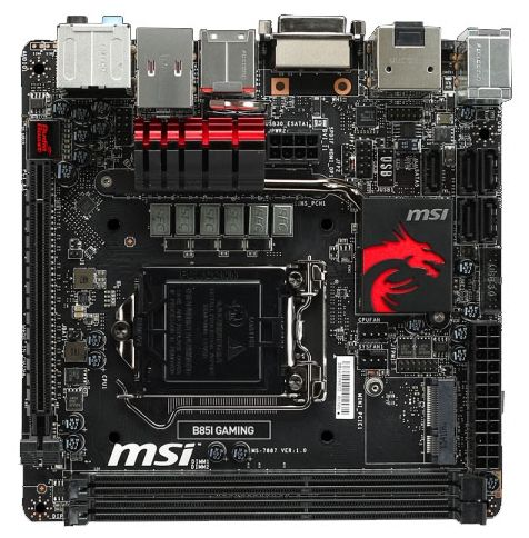 MSI B85I GAMING s 1150 mini-ITX