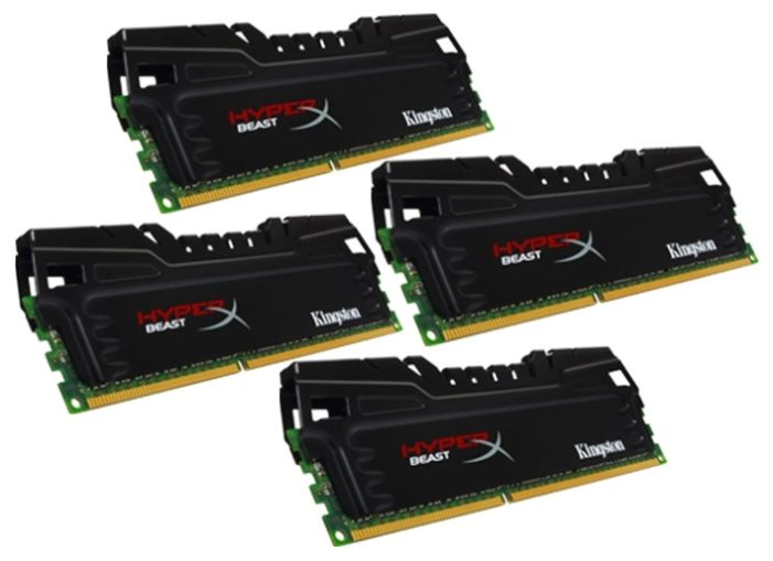 Kingston 16GB PC14900 DDR3 KIT4 HX318C9T3K4/16