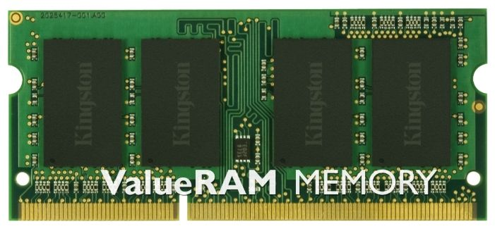 Kingston 8GB PC10600 DDR3 SO KVR1333D3S9/8G