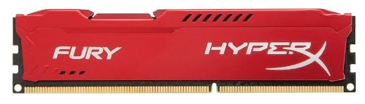 Kingston HyperX Fury 8GB PC12800 DDR3 HX316C10F*/8