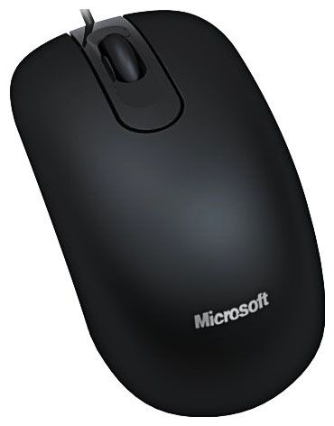 Microsoft Optical Mouse 200 For Business  Black USB