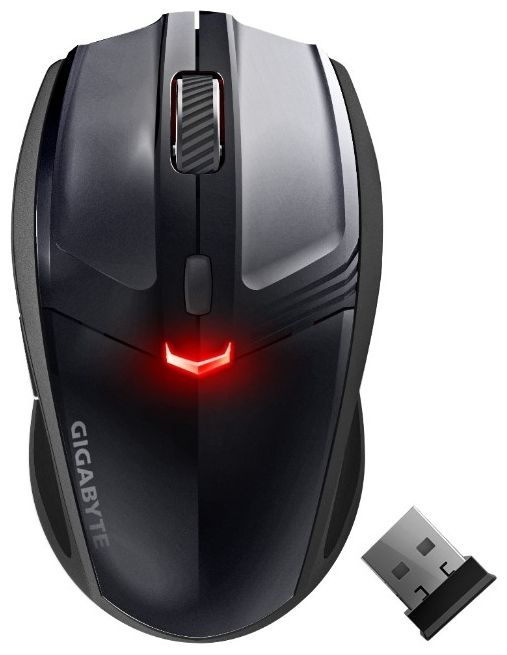 GigaByte ECO500 Black Wireless USB