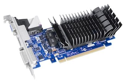ASUS PCI-E EN210 SILENT/DI/1GD3/V2(LP) GeForce 210 1GB DDR3 (64bit) DVI VGA HDMI Retail