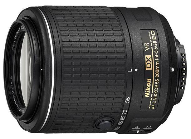 Купить Nikon 55-200mm f/4-5.6G AF-S DX ED VR II Nikkor в интернет магазине. Цены, фото, описания, характеристики, отзывы, обзоры
