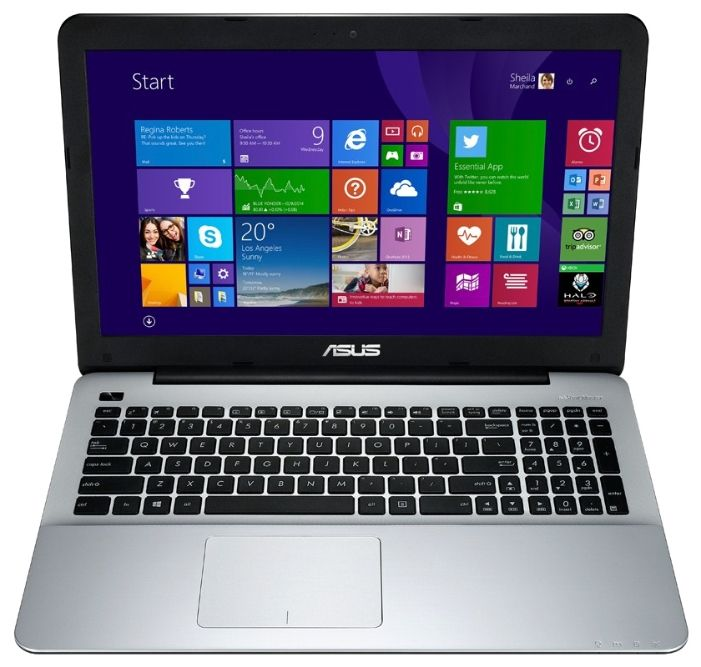 "ASUS X555LF (Core i3 5010U 2100 MHz/15.6""/1366x768/4.0Gb/1000Gb/DVD-RW/NVIDIA GeForce 930M/Wi-Fi/Bluetooth/Win 8 64)"