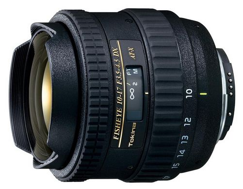 Tokina AT-X 107 AF DX Fish-Eye Canon EF-S