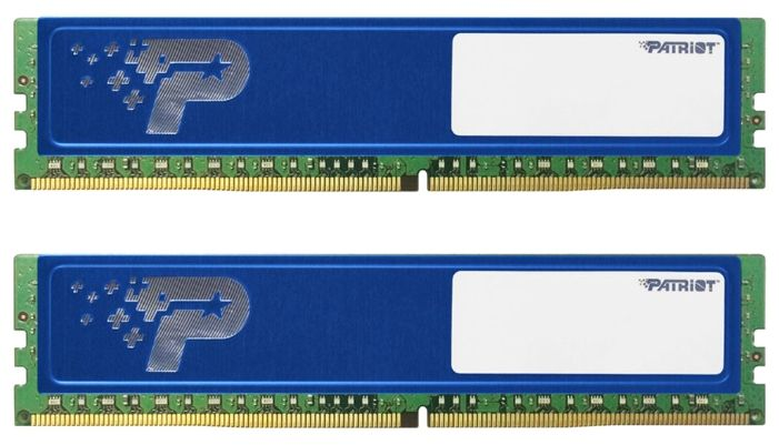 Patriot 16Gb PC19200 DDR4 Kit2 DIMM PSD416G2400KH