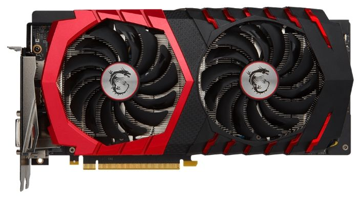 MSI GeForce GTX 1060 1531Mhz PCI-E 3.0 3072Mb 8008Mhz 192 bit DVI HDMI HDCP GTX1060GAMING3G