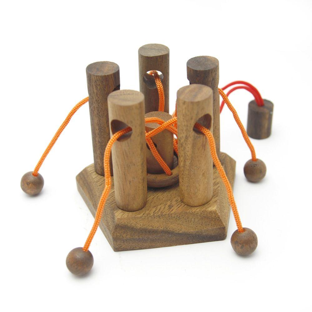 Настольные игры для детей Thai wood Головоломка