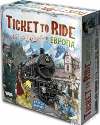 "Hobby World Настольная игра ""Билет на поезд: Европа"" (Ticket to Ride: Европа)"