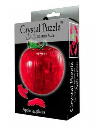 Crystal Puzzle 3D Пазл-Головоломка Яблоко