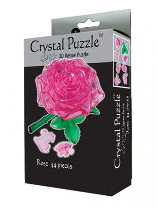 Crystal Puzzle 3D Пазл-Головоломка Роза