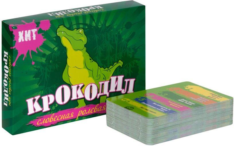 Купить Настольная игра Крокодил Хит , Настольные игры для детей noname, Карточные игры