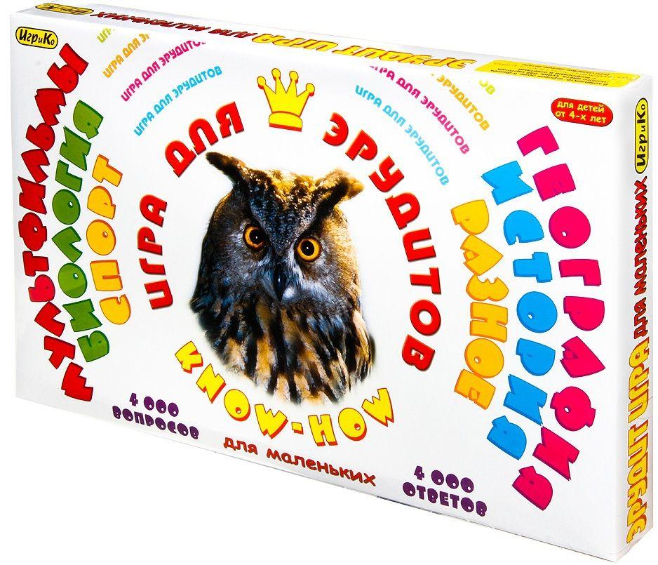Купить Добрые игрушки Настольная игра для эрудитов в интернет магазине. Цены, фото, описания, характеристики, отзывы, обзоры