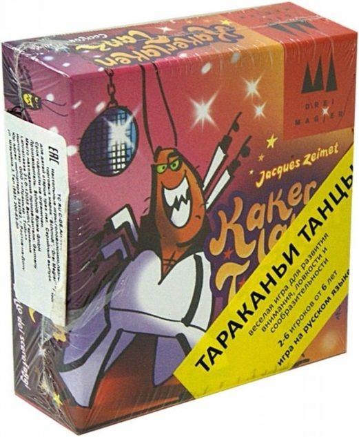 """Купить Schmidt Настольная игра """"Тараканьи танцы"""" в интернет магазине. Цены, фото, описания, характеристики, отзывы, обзоры"""