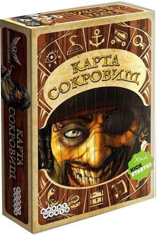 Купить Настольная игра Карта сокровищ (Dead Man's Draw), Настольные игры для детей Hobby World, Логические