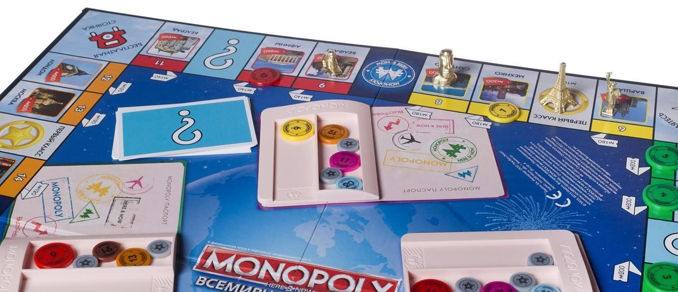 "Hasbro Настольная игра ""Всемирная Монополия"" (Monopoly: Here and Now – The World Edition)"
