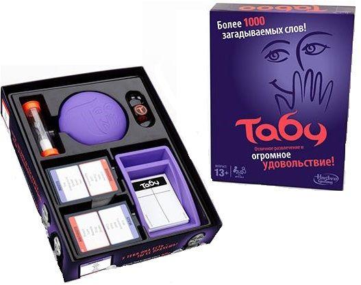 Купить Настольная игра Табу , Настольные игры для детей Hasbro, Развлекательные игры