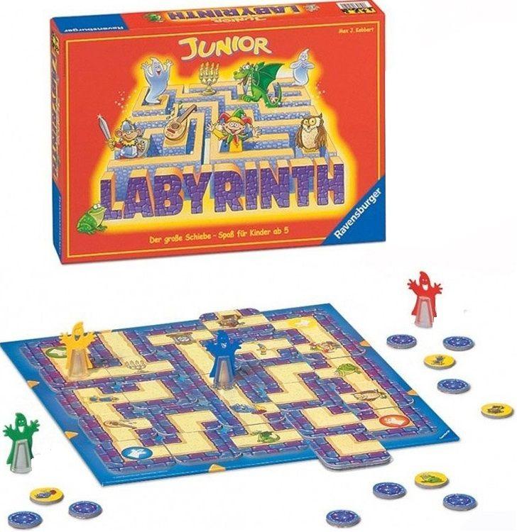 Купить Настольная игра Детский Лабиринт , Настольные игры для детей Ravensburger, Развлекательные игры
