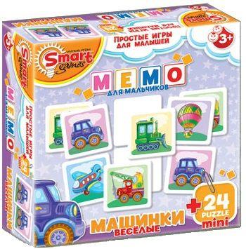 """Купить Смарт Мемо """"Веселые машинки"""" в интернет магазине. Цены, фото, описания, характеристики, отзывы, обзоры"""