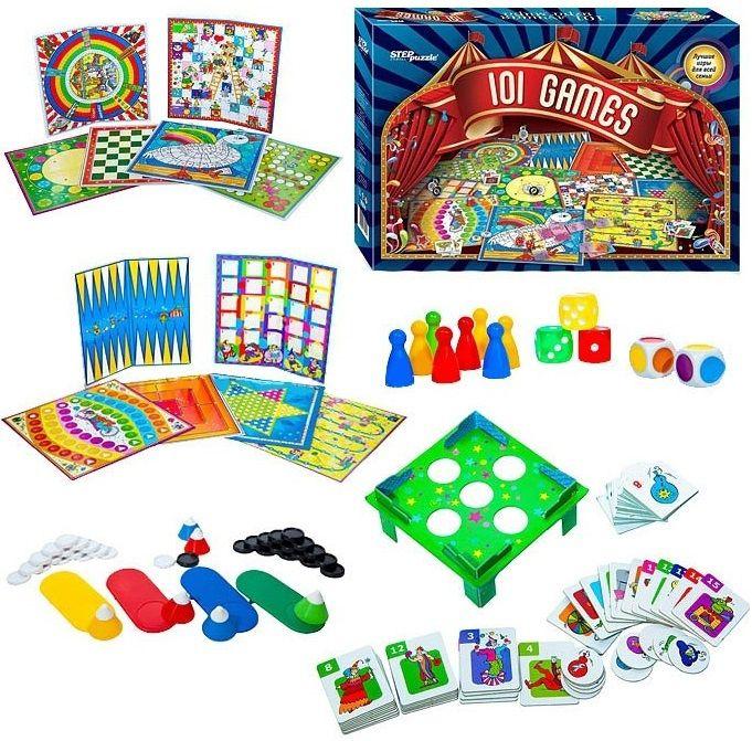 Настольные игры для детей Степ