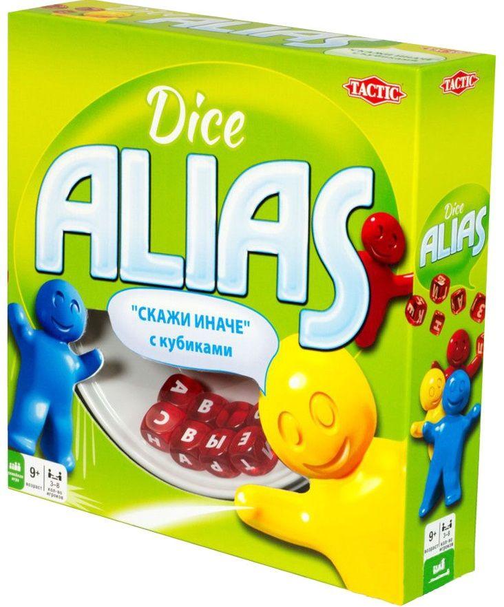 Купить Настольная игра Dice Alias (Алиас/Элиас/Скажи иначе с кубиками), Настольные игры для детей Tactic, Развлекательные игры