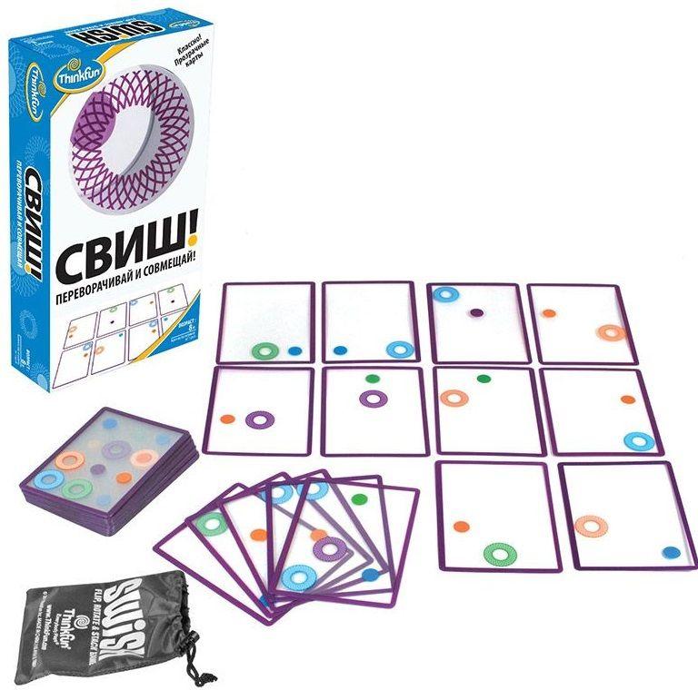 """Купить ThinkFun Настольная игра """"Свиш"""" в интернет магазине. Цены, фото, описания, характеристики, отзывы, обзоры"""