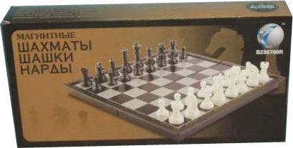 Купить 1 TOY Настольная игра 3 в 1 (шашки,шахматы,нарды), магнитная в интернет магазине. Цены, фото, описания, характеристики, отзывы, обзоры