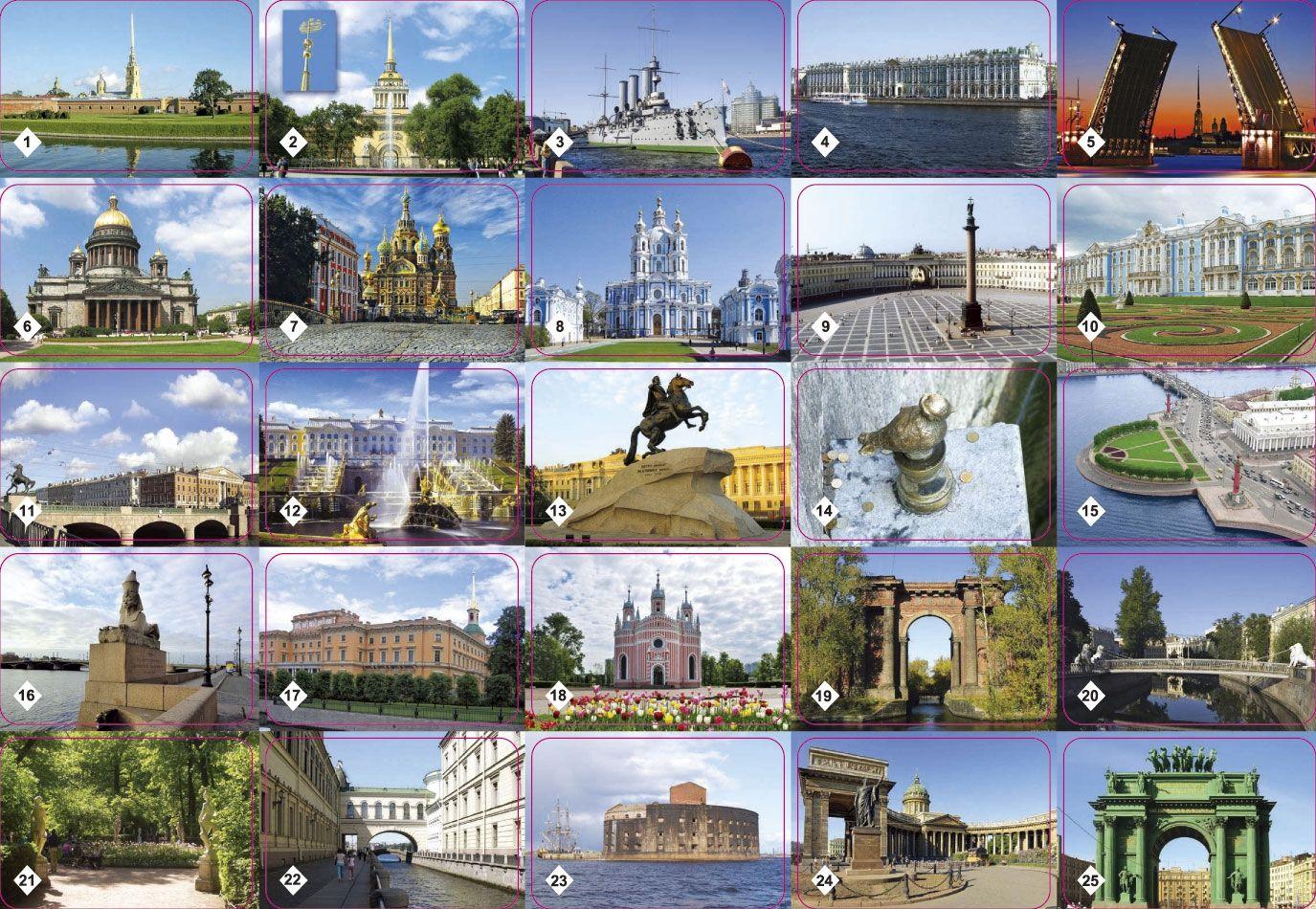 Города россии для детей картинки