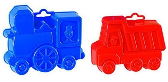Купить Формочки Самосвал и паровоз , Детские песочницы и аксессуары Полесье, Игры на воде и в песочнице