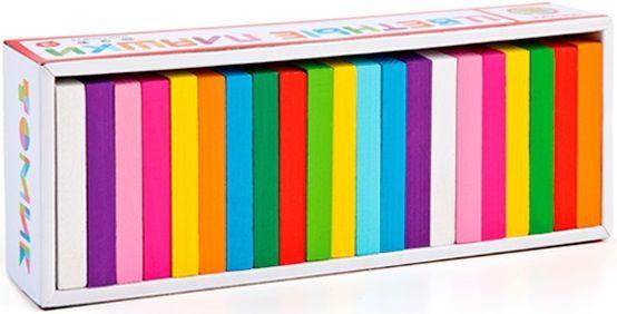 Цветные плашки