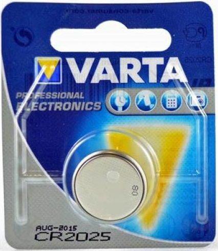 Батарейки CR2025, 1 шт.