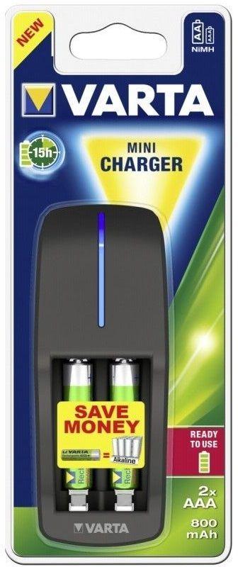 Зарядное устройство Mini Charger + 2 x 800 mAh фото