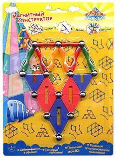 Купить Магнитный конструктор Пирамида 29 элементов, Kribly Boo