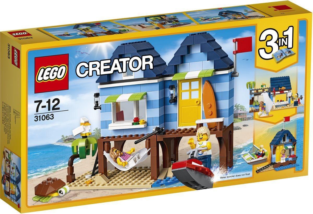 """Купить Конструктор Creator """"Отпуск у моря"""" 275 деталей <span class=""""brend-last-pos"""">Lego</span> в интернет магазине. Цены, фото, описания, характеристики, отзывы, обзоры"""