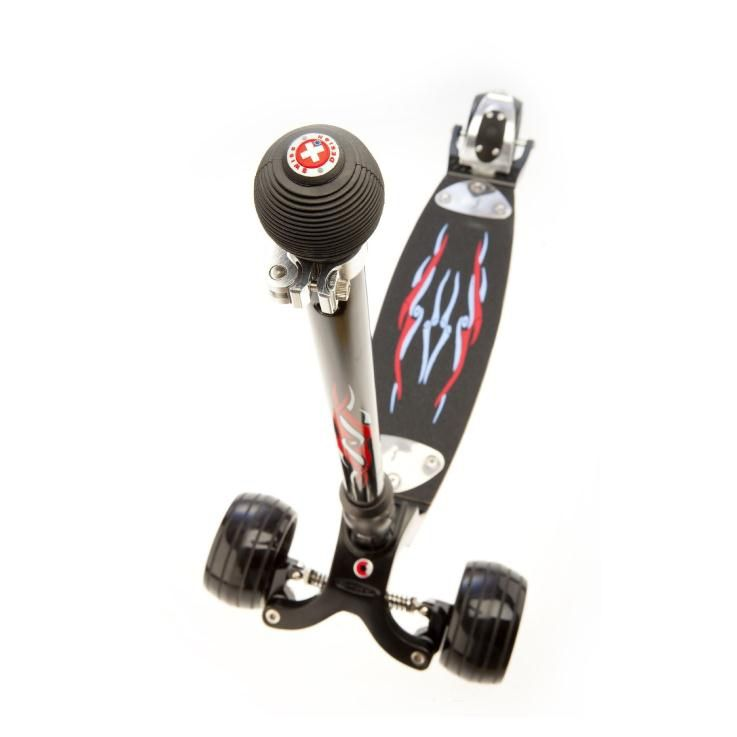 Micro Самокат Kickboard Monster Stick+T-tube