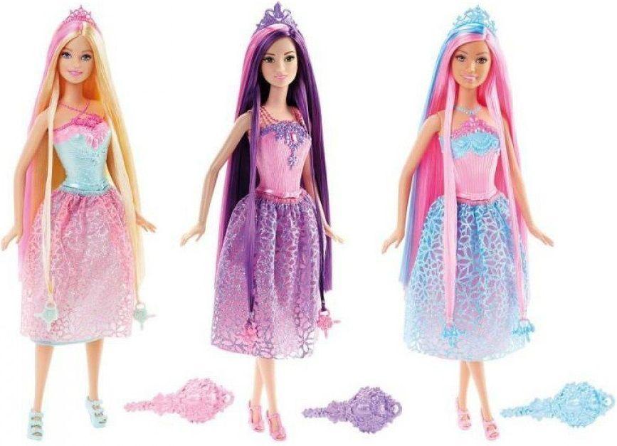 Купить Кукла Barbie Принцесса с длинными волосами , Куклы и пупсы Mattel