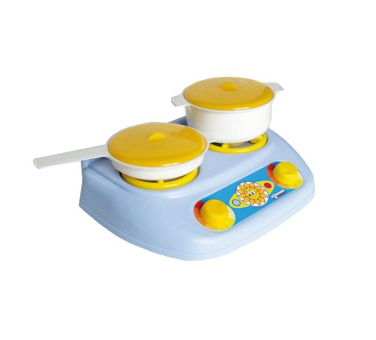 Купить Кухонный набор с газовой плитой, Сюжетно-ролевые игры для детей Совтехстром, Игровые наборы