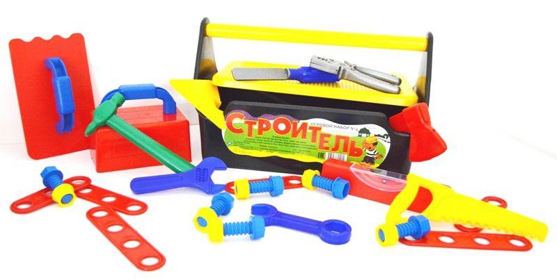 Купить Набор Строитель №4 , Сюжетно-ролевые игры для детей Совтехстром, Игровые наборы
