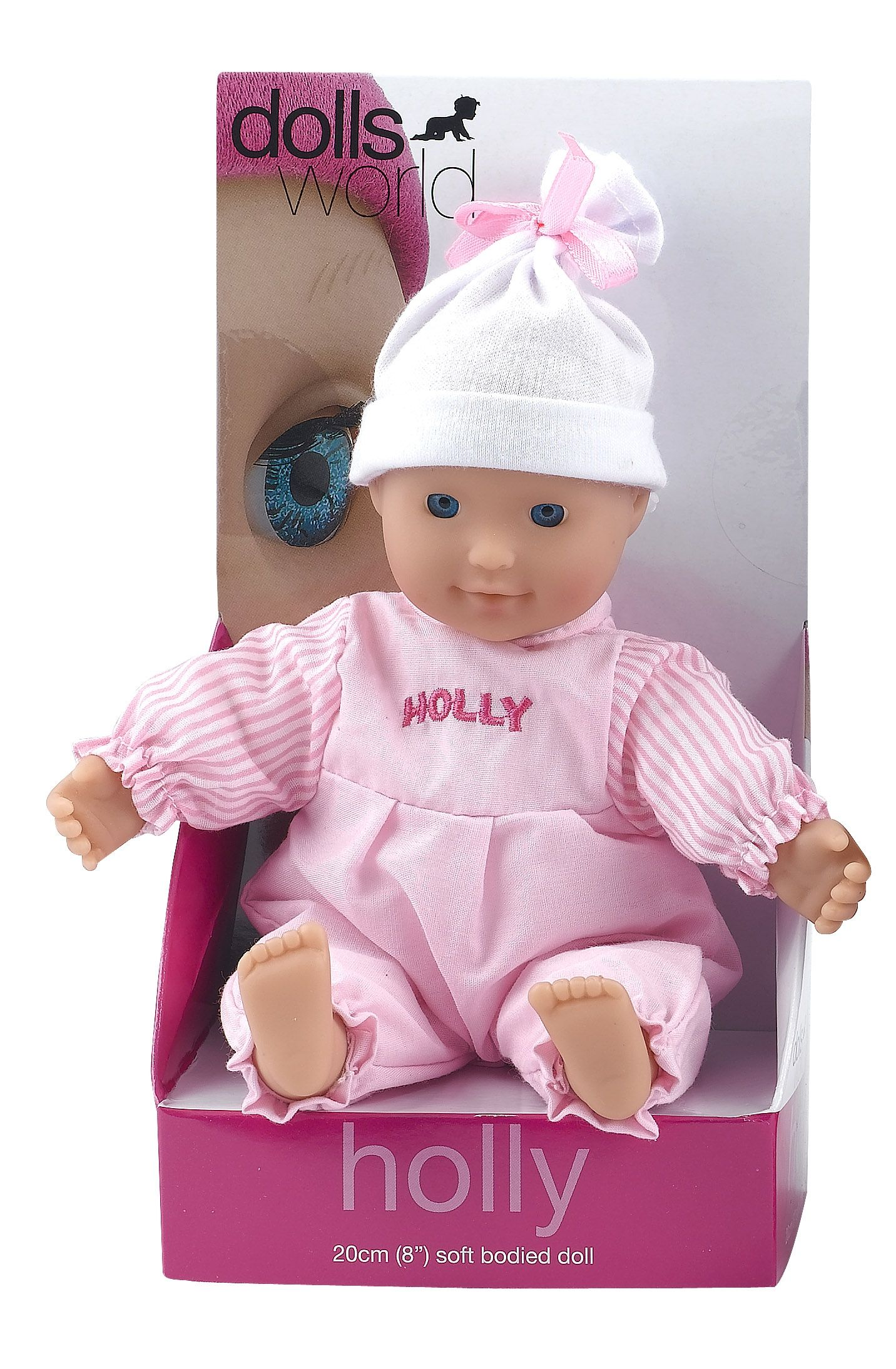"Dolls World  Пупс ""Холли"" 20 см"