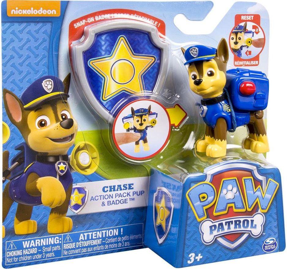 Купить Paw Patrol Фигурка спасателя с рюкзаком-трансформером (Щенячий Патруль), любимые персонажи Spin Master, Щенячий патруль (Paw Patrol)