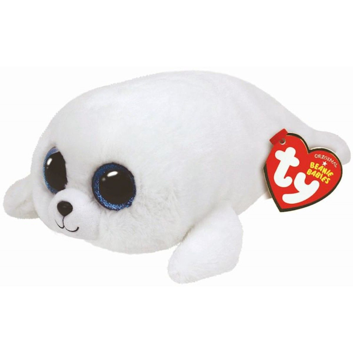 "Ty Inc Мягкая игрушка Beanie Boo's ""Белый тюлень Icing"""