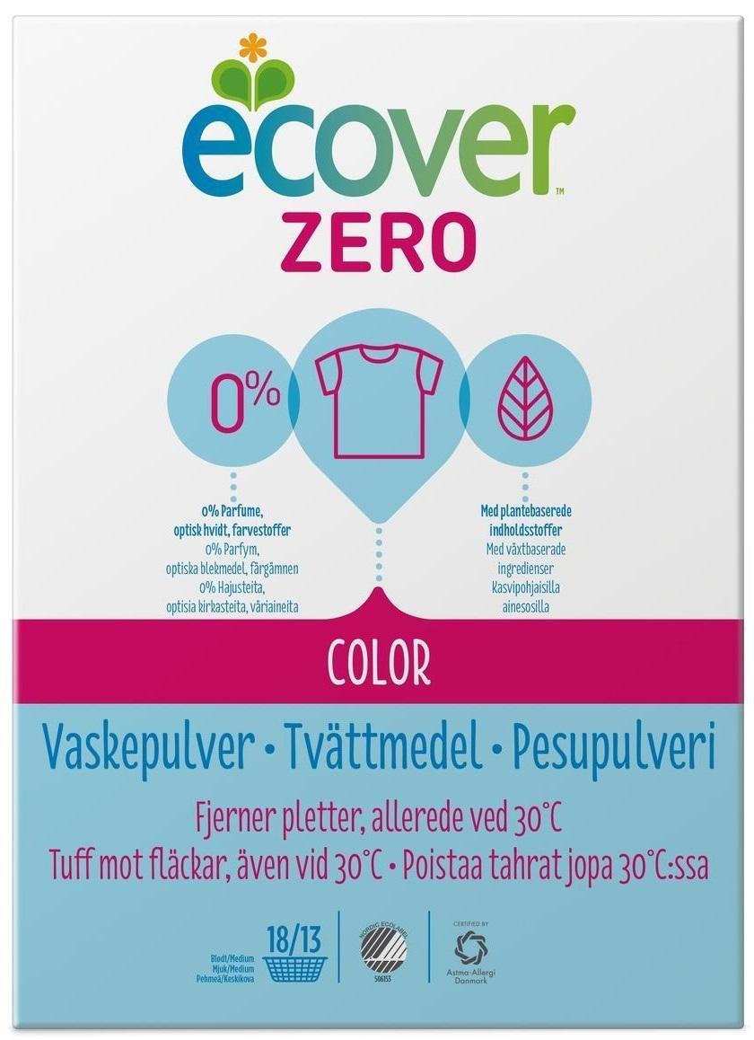"""Купить Ecover Экологический стиральный порошок для цветного белья """"Zero"""" в интернет магазине. Цены, фото, описания, характеристики, отзывы, обзоры"""