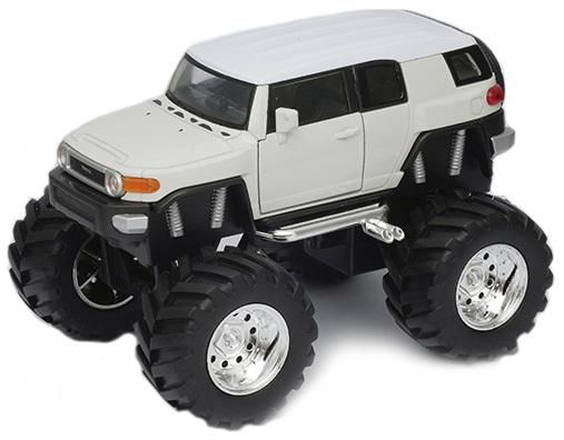 "Welly Модель машины ""Toyota FJ Cruiser Big Wheel"""