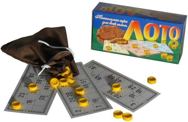 Настольные игры для детей Астрон Лото