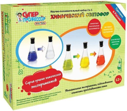 """Купить Набор Юный химик """"Химический светофор"""" <span class=""""brend-last-pos"""">БрикНик</span> в интернет магазине. Цены, фото, описания, характеристики, отзывы, обзоры"""