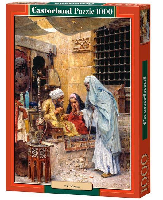 """Купить Castorland Пазл """"Базар"""" в интернет магазине. Цены, фото, описания, характеристики, отзывы, обзоры"""