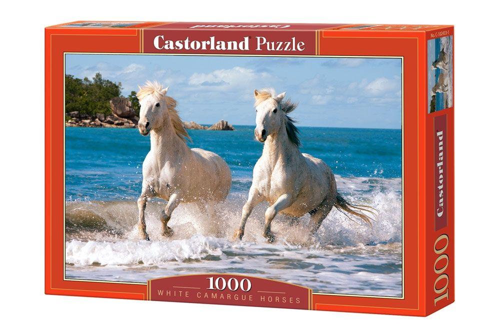 """Купить Castorland Пазл """"Белые лошади"""" в интернет магазине. Цены, фото, описания, характеристики, отзывы, обзоры"""