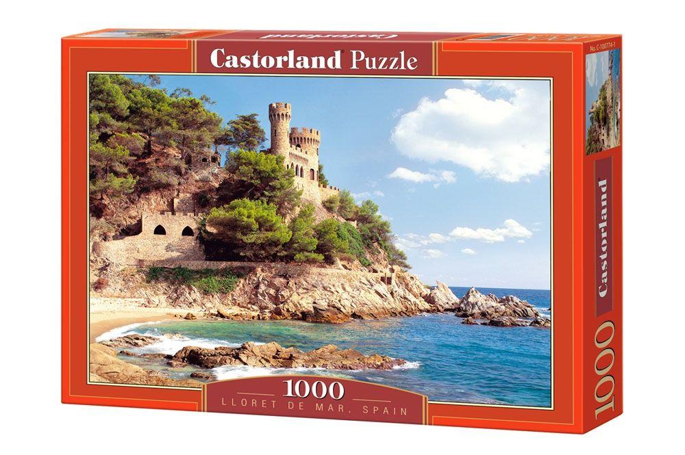 """Купить Castorland Пазл """"Ллорет-де-Мар. Испания"""" в интернет магазине. Цены, фото, описания, характеристики, отзывы, обзоры"""